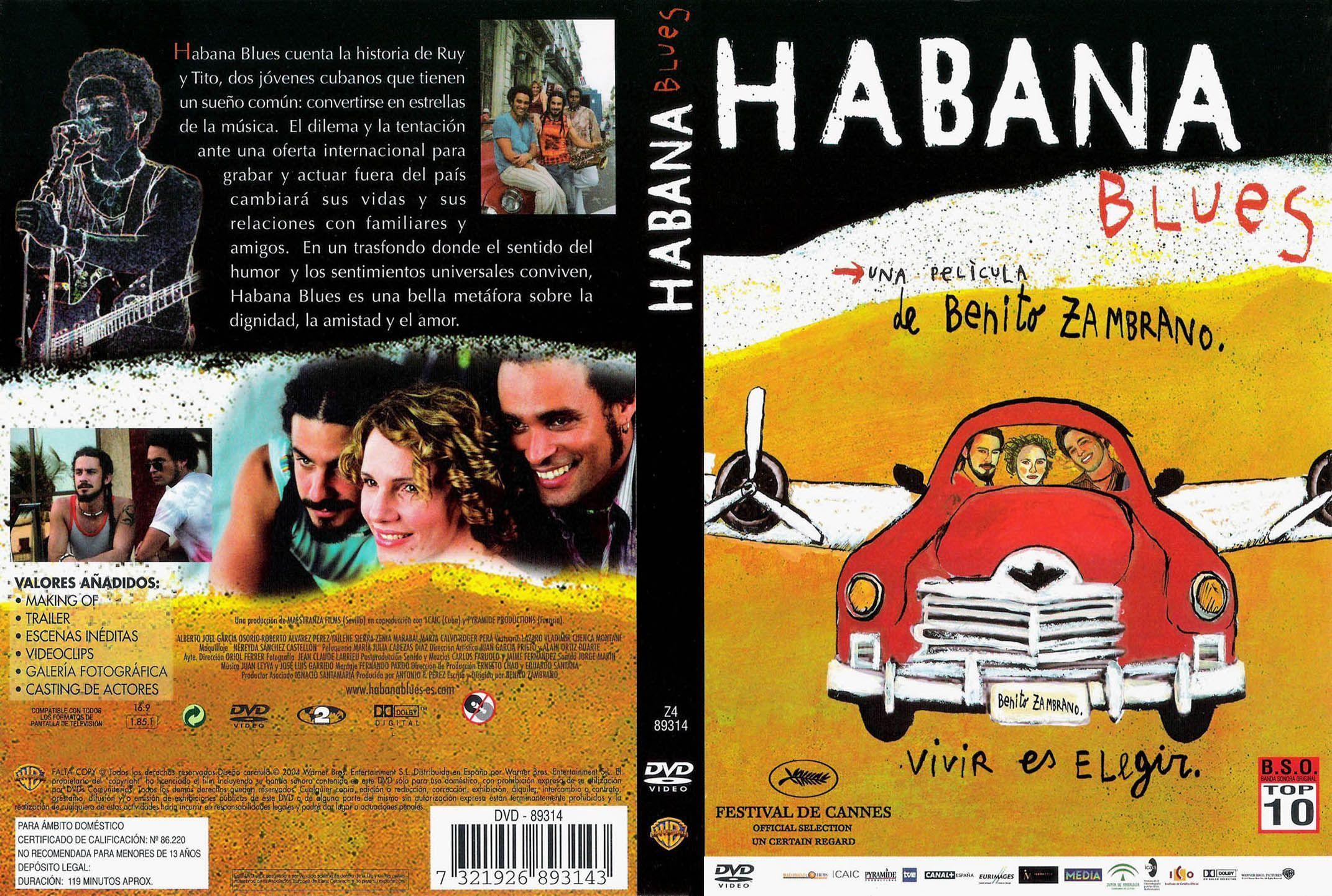 Carátula Caratula de Habana Blues (Habana Blues)