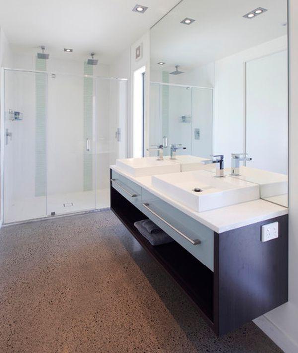 awesome floating sink for contemporary bathroom idea creative rh pinterest com