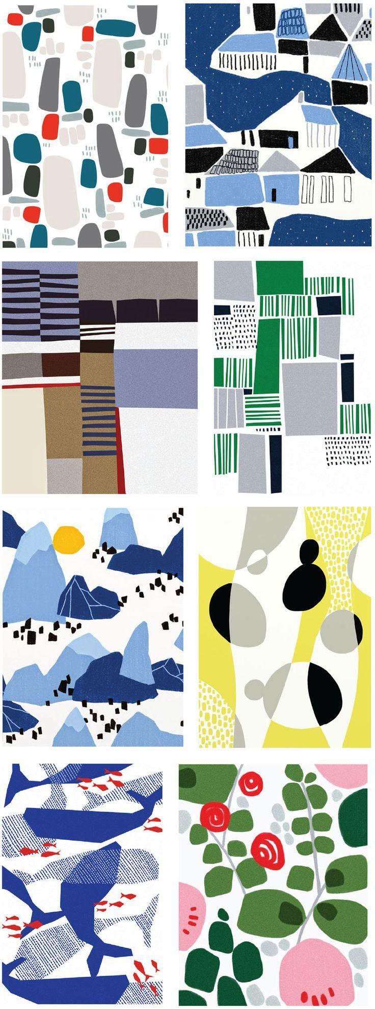 Ophelia-Pang patterns