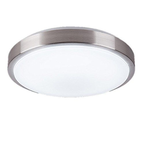 Zhma 8 Inch Led Ceiling Light Natrual White 8w 680lm 60w Incandescent 18w Fluorescent Bulbs Equivalent Round Ceiling Lights Led Ceiling Lights Led Ceiling