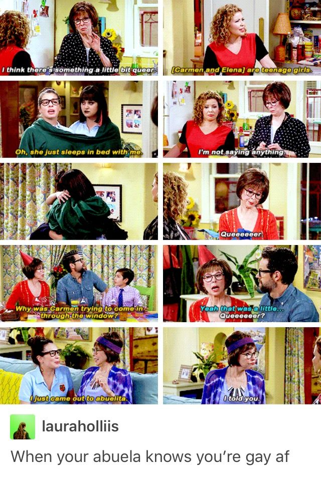 One Day At A Time Parallel Elena Alvarez Coming Out Lydia Riera