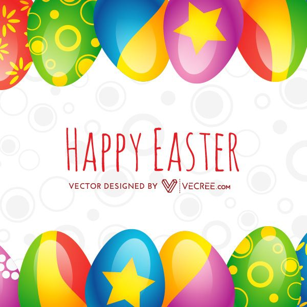 Happy Easter Background With Easter Eggs Free Vector Download - https://vecree.com/9429870/happy-easter-background-with-easter-eggs-free-vector-download/
