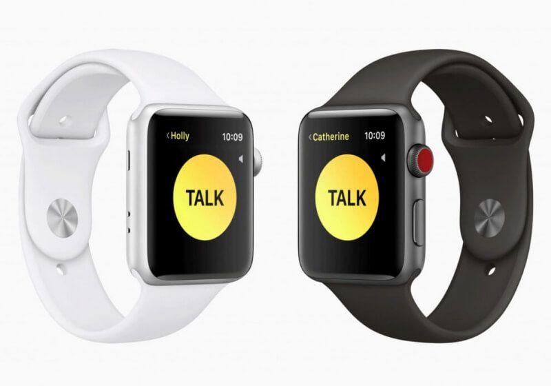 The Apple Watch's 'Walkie Talkie' app will let