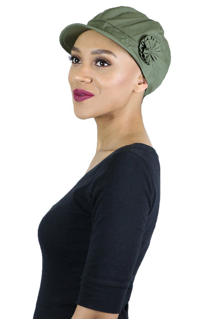 ca1d0fee8c69c Newsboy Cap for Women | Summer Hats | Cancer Headwear | Chemo Hats – Hats  Scarves