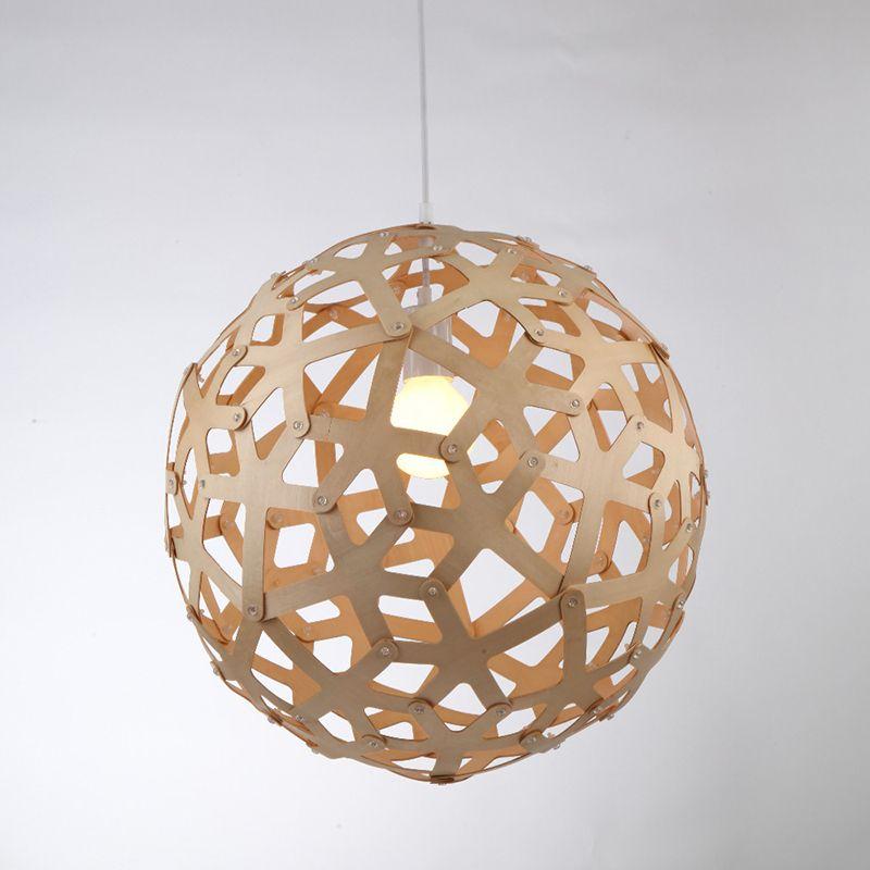 ikea simple bamboo coral pendant light fixtures d400mm
