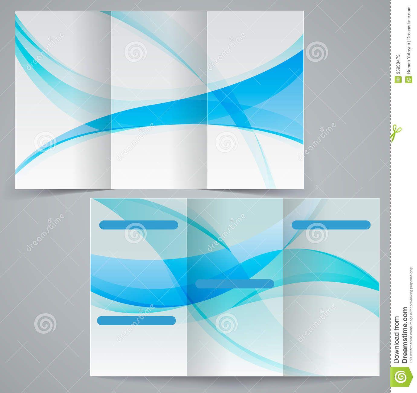 tri fold presentation board templates