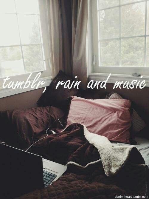 Tumblr lluvia y musica! ;)
