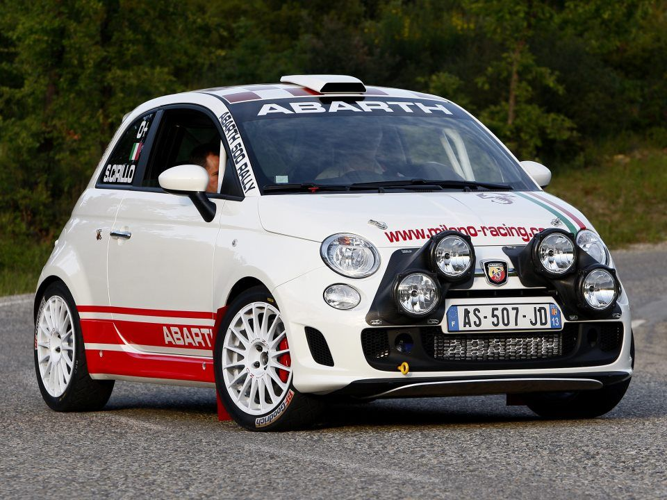 WorldCarFans Abarth 500 R3T 2009 | Cars | Pinterest | Fiat, Cars and