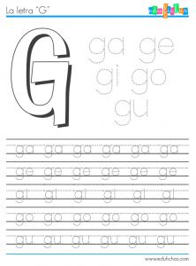 silabas con g moon9 pinterest spanish worksheets pre school and worksheets. Black Bedroom Furniture Sets. Home Design Ideas