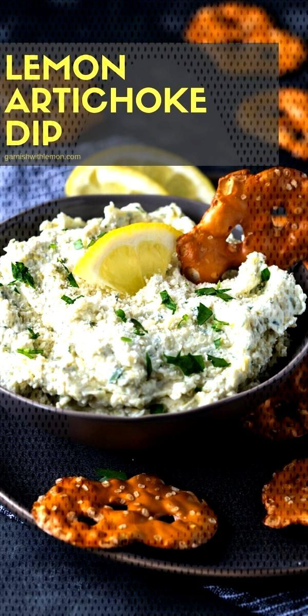 Lemon Artichoke Dip Recipe - Garnish with Lemon Can there ever be enough versions of a classic? Thi