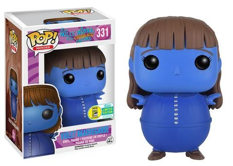Funko announcing their 2016 SDCC exclusives wave three: Willy Wonka - Violet Beauregarde