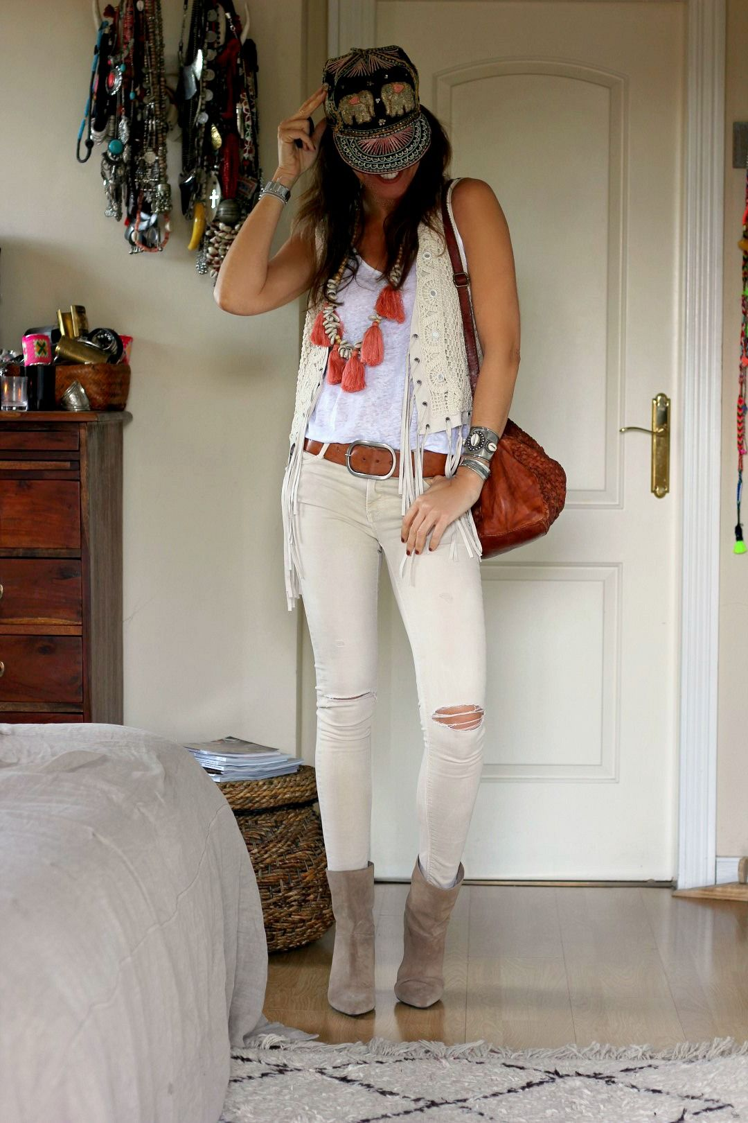 boho streetstyle for Monday!!! in 2019 | Fashion/ jewelry ...