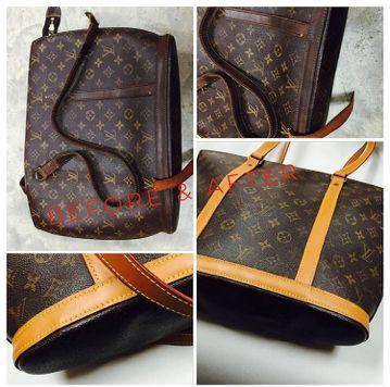 Complete Leather Trim Strap Replacement Vintage Louis Vuitton