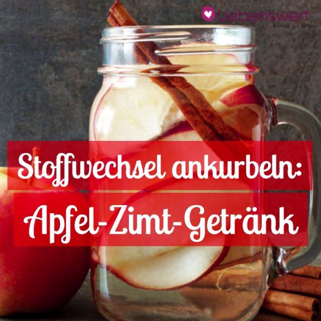 Losing weight without exercise: with the apple and cinnamon drink  - Fit -