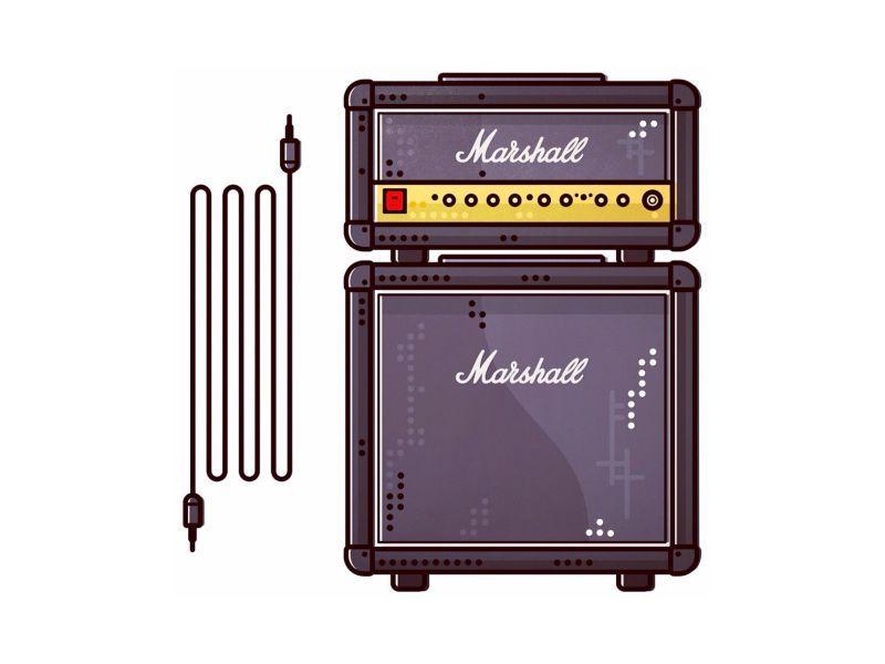 Marshall !!   Speakers !!