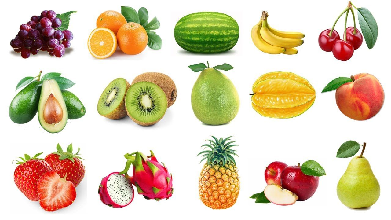 Learn Names Of Fruits For Kids Kids Learning Fruits Names With Puzzle Fruit Fruit Picture Fruits For Kids