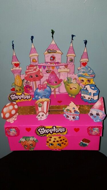Shopkins Valentines box my daughter and I made. | good things ...