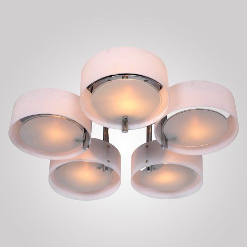 lightinthebox acrylic chandelier with 5 lights flush mount ceiling rh pinterest es