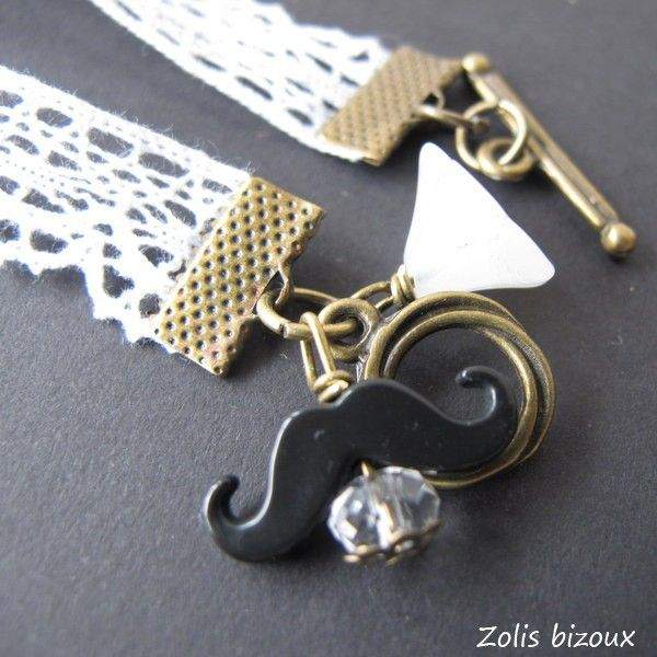 Bracelet tissu Bigoudène (noir) | Zolis Bizoux Bijoux et accessoires fantaisie bretons, Quimper