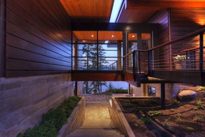 Diseño de Interiores & Arquitectura: Cabaña Moderna con Vistas al ...