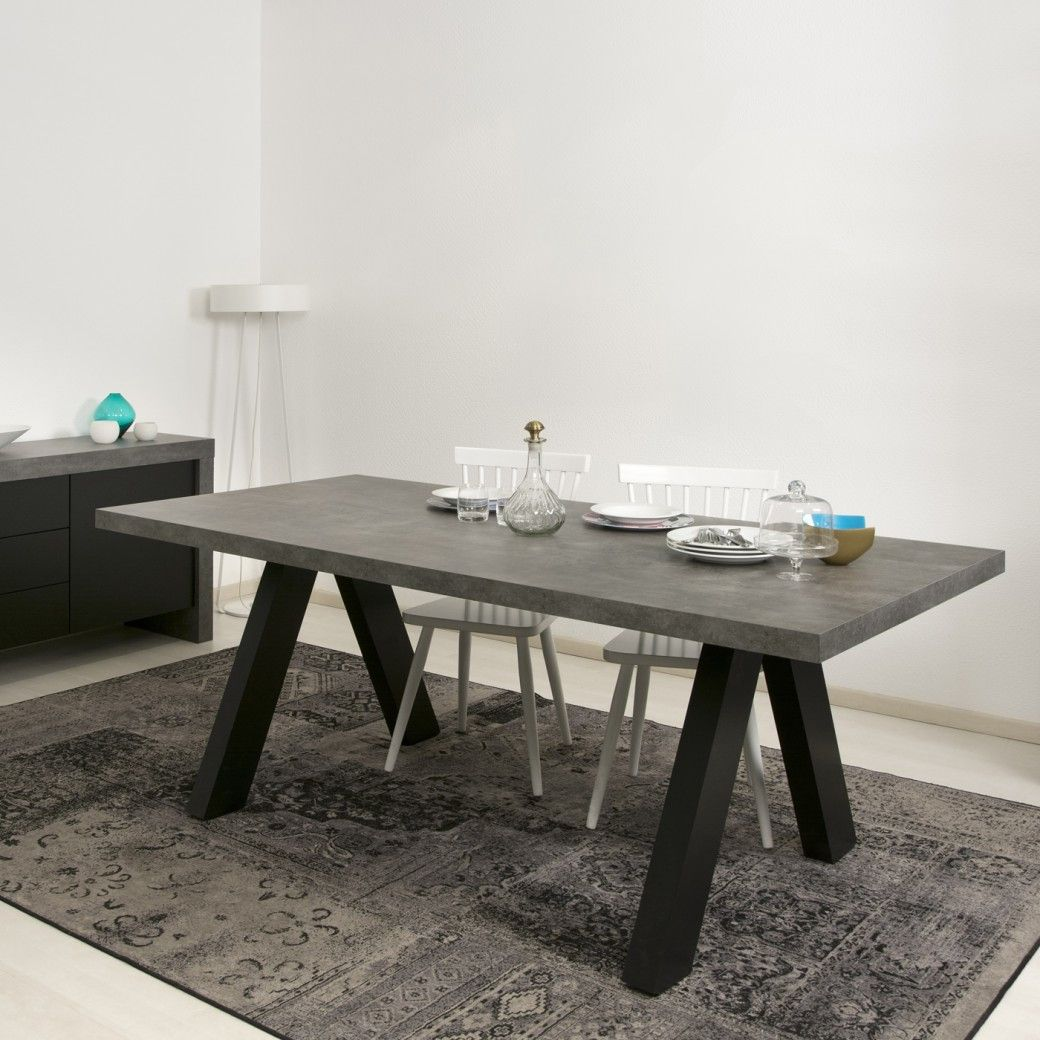 The design of the Apex dining table