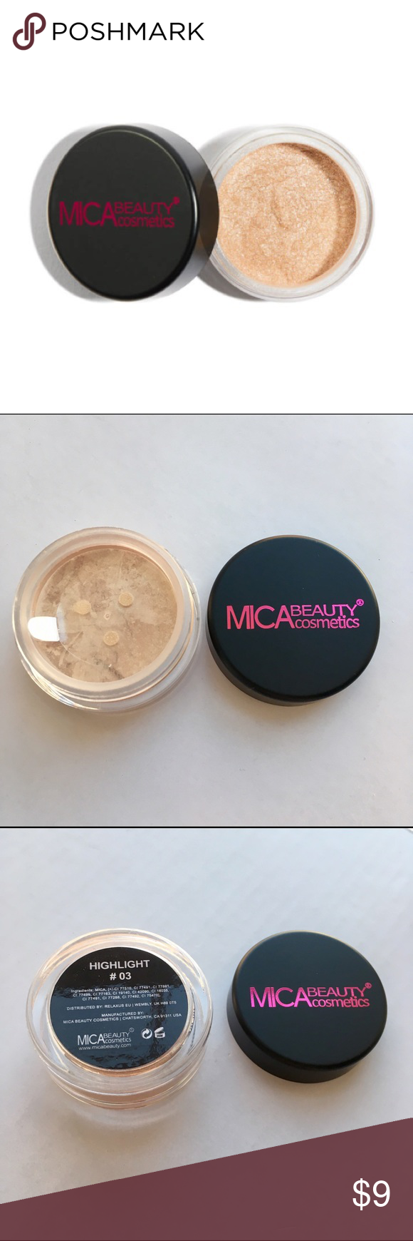 NEW mineral highlighter Brand new unopened highlighter by