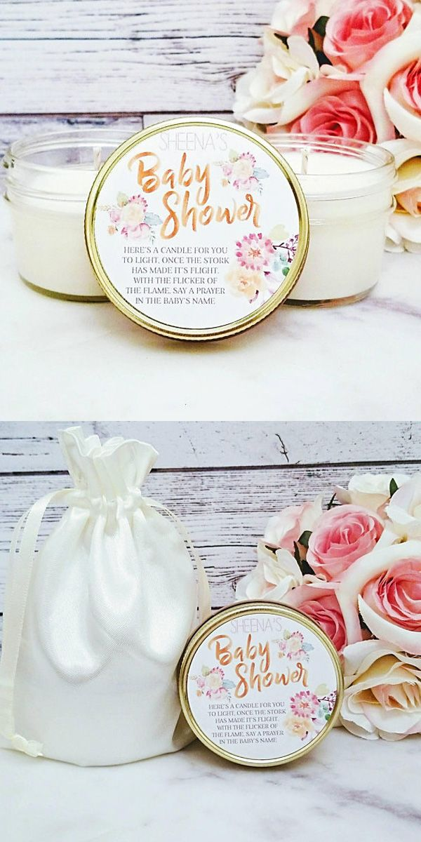 Baby Shower Favors Candle Baby Shower Favors Personalized Baby