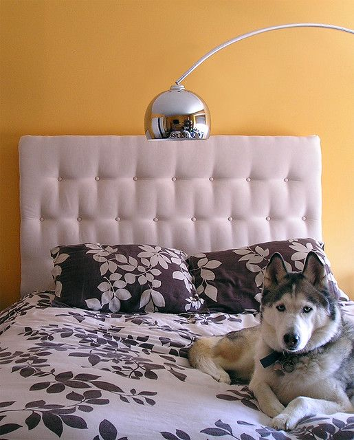 Diy Upholstered Headboard   Maybe With Map Print Fabric For Arlou0027s ...