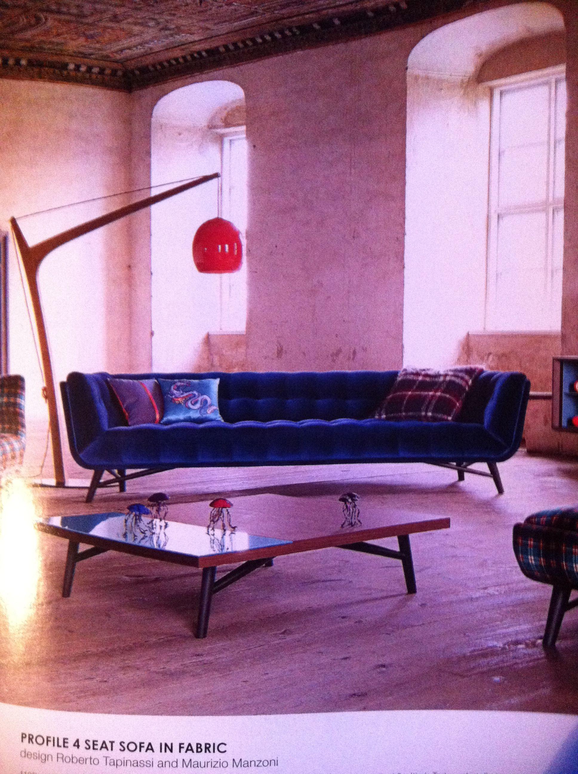 blue velvet couch roche bobois decorating pinterest blue rh pinterest com