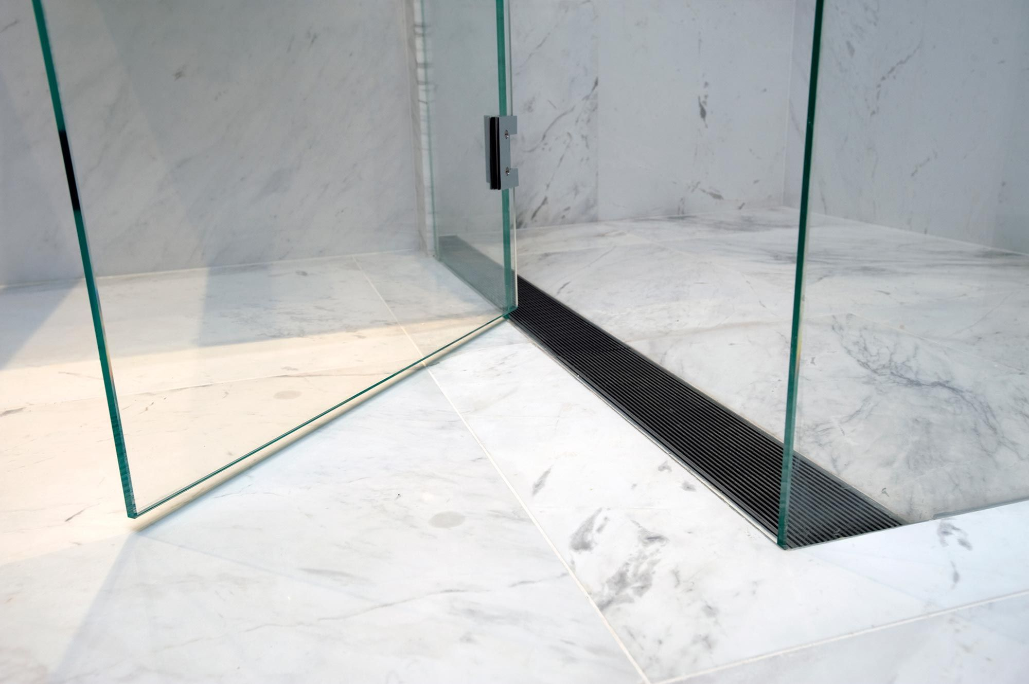 infinity drain detail coveted baths bathroom linear drain rh pinterest com