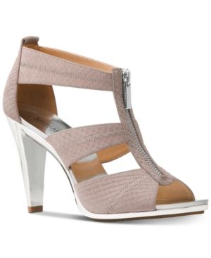 db828be9c06c8 Michael Michael Kors Berkley T-Strap Dress Sandals - Pink 6.5M