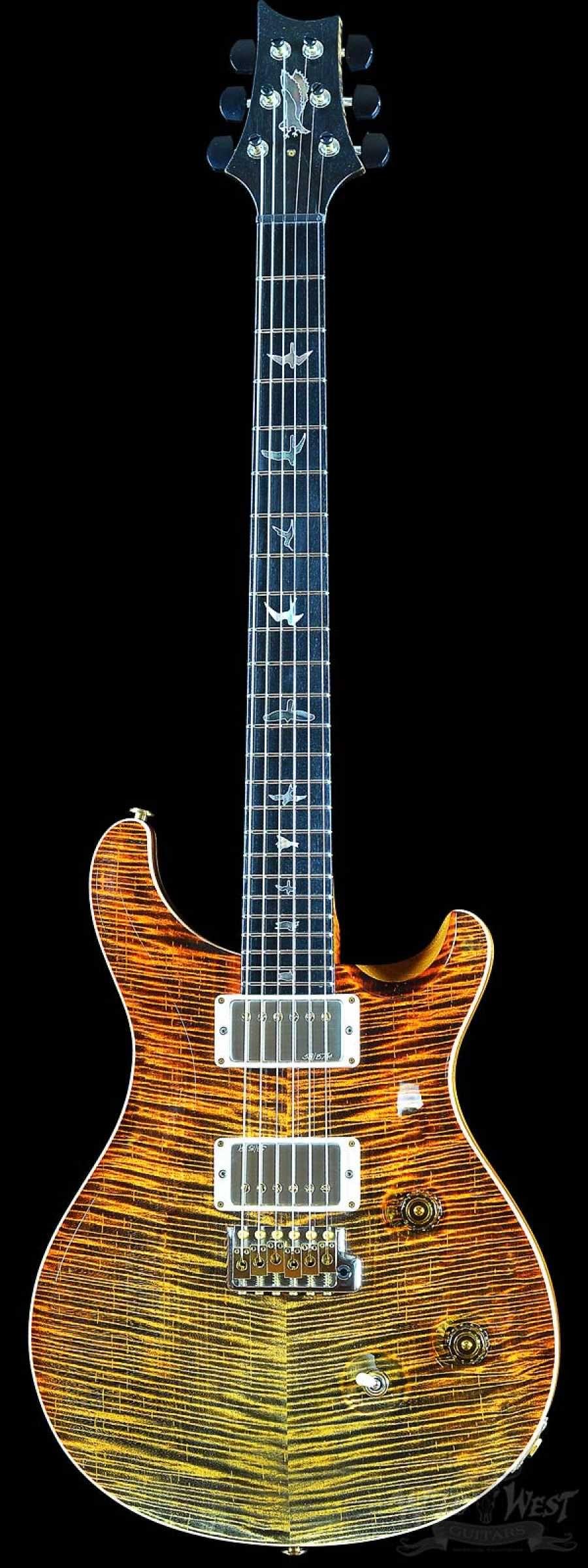 PRS Private Stock #6134 Custom 24 Voodoo Tiger Dragon's Breath #prsguitar
