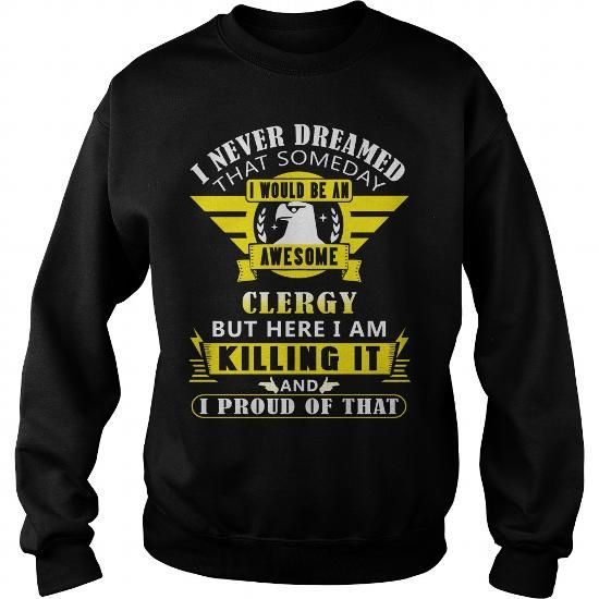 Awesome Tee Awesome CLERGY Clothing T-Shirts