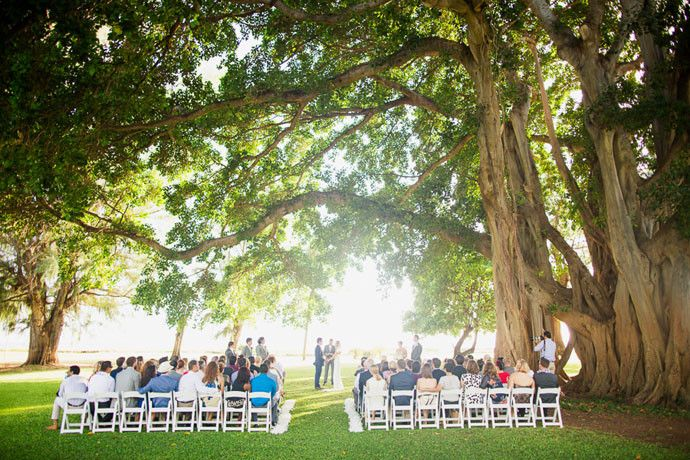 Waimea Plantation Cottages Wedding Rachel Travis