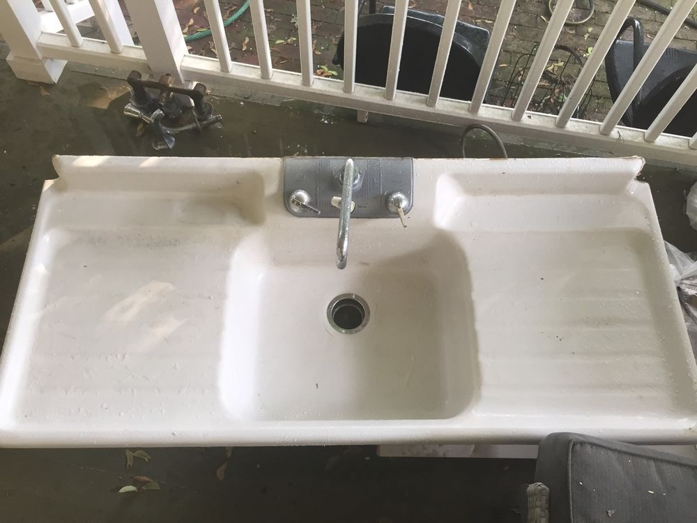1950u0027s Vintage Crane Sunny Day Sink CranePlumbing