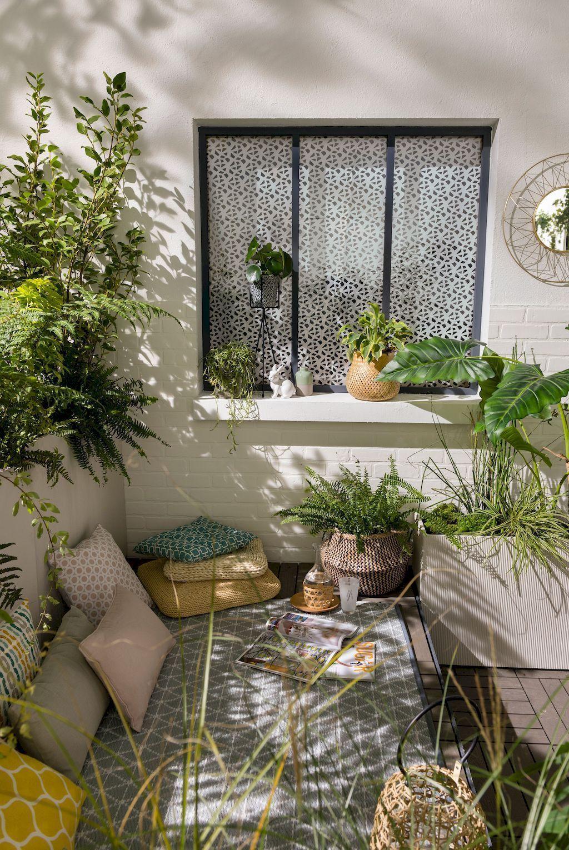 34 Stunning Apartment Garden Design Ideas | Small balcony ...