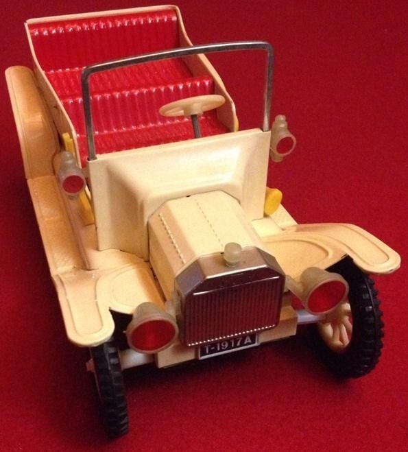 1960 s tin friction operated 1917 ford model t ford touring car made rh pinterest com