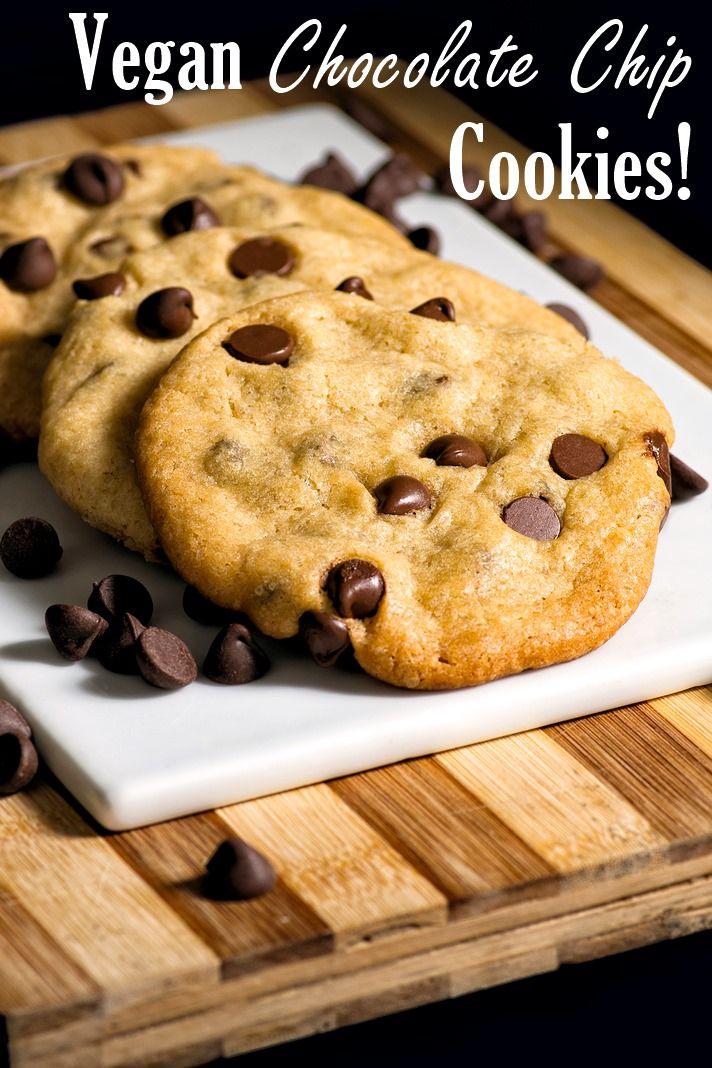 The Best Nut Free Vegan Chocolate Chip Cookies