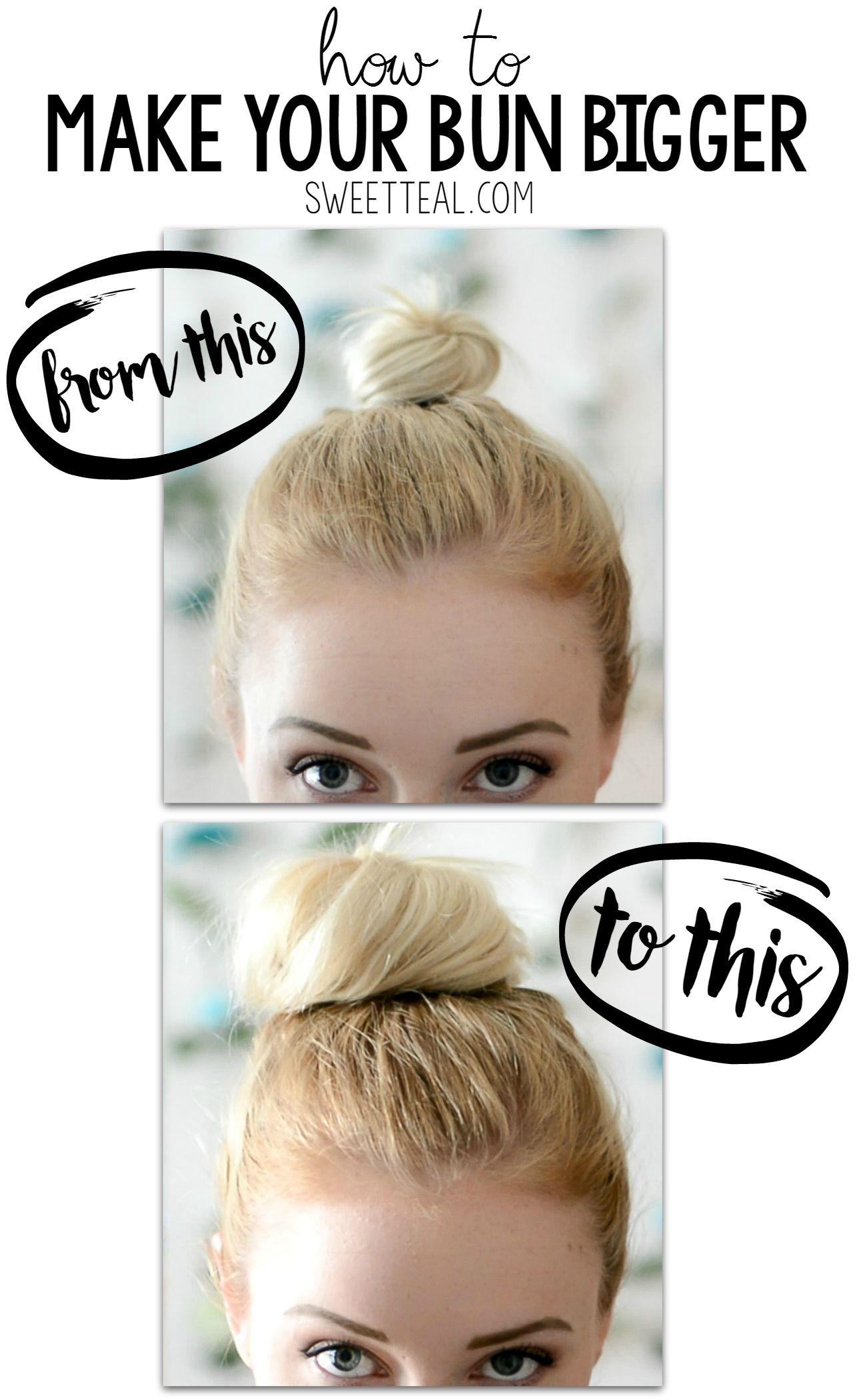 18+ Messy bun tutorial for thin hair ideas