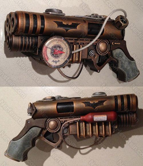 Batman Steampunk Pistol