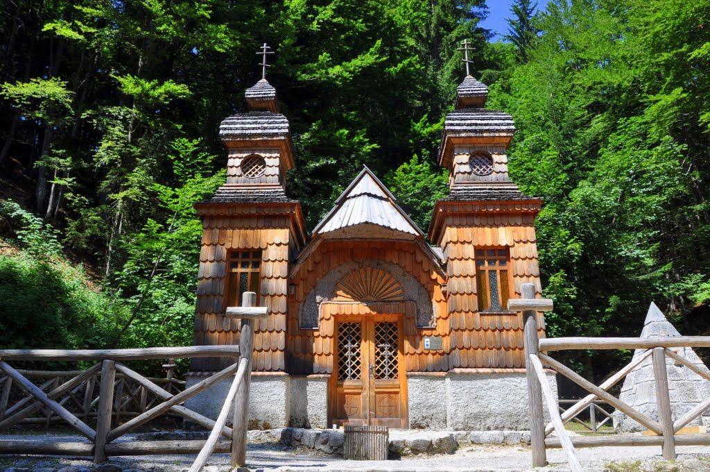 Russian Chapel Kranjska Gora slovenia Russian