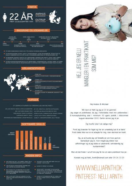 Curriculum Vitae Jobansogning Fakta Grafisk Design