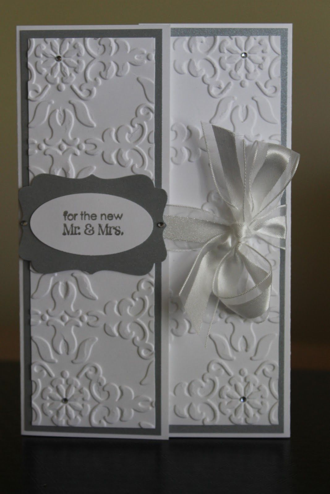 stampin up wedding card Some Wedded