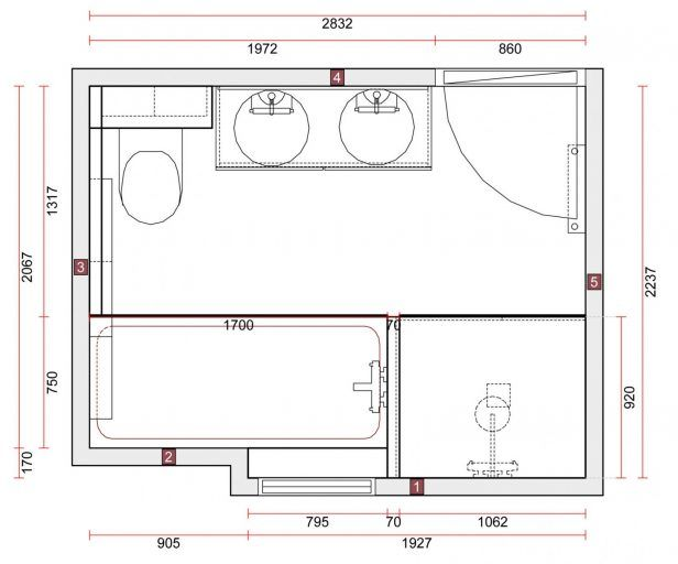 Resultat De Recherche D Images Pour Salle De Bain De 9m2