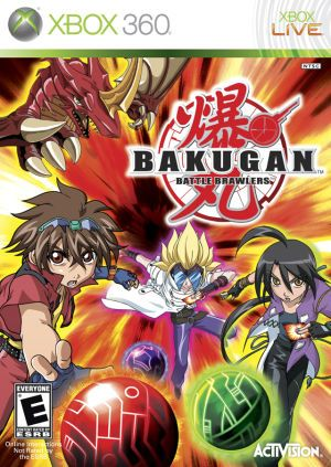 Bakugan Xbox 360 Game Bakugan Battle Brawlers Wii Games Video