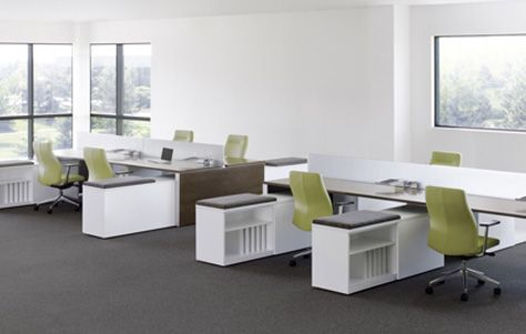 Work Spaces Without Walls For Better Collaboration Work