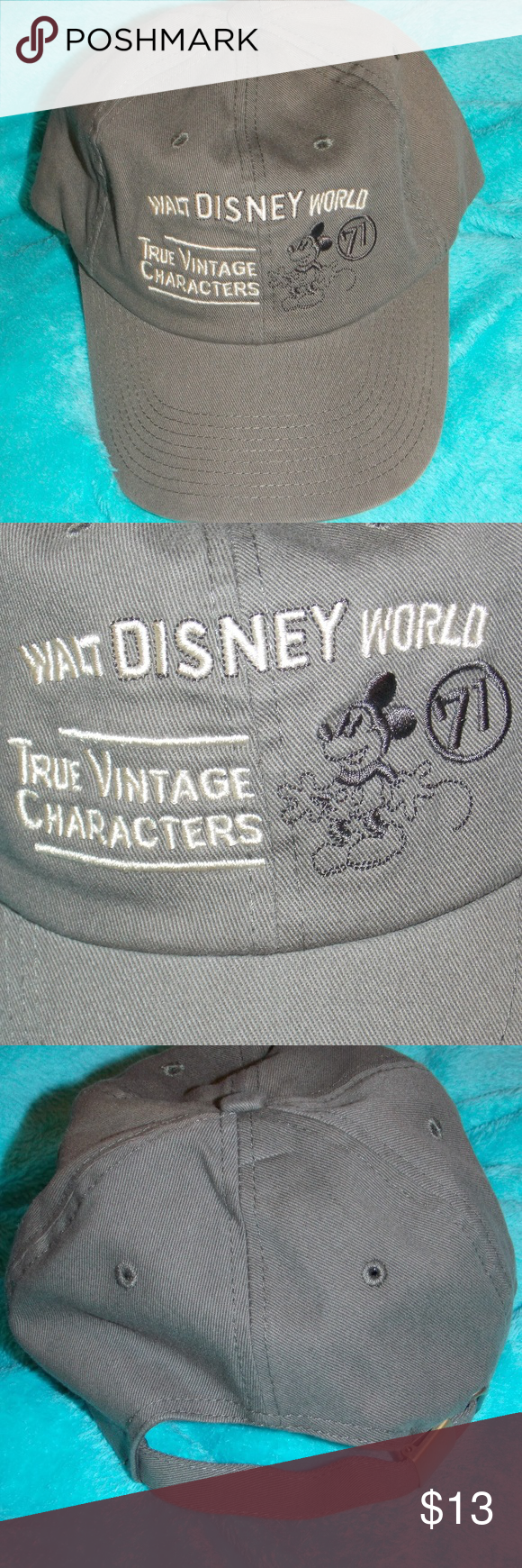 dde99e4db Walt Disney Parks True Vintage Characters Hat Cap . >>>> This item ...