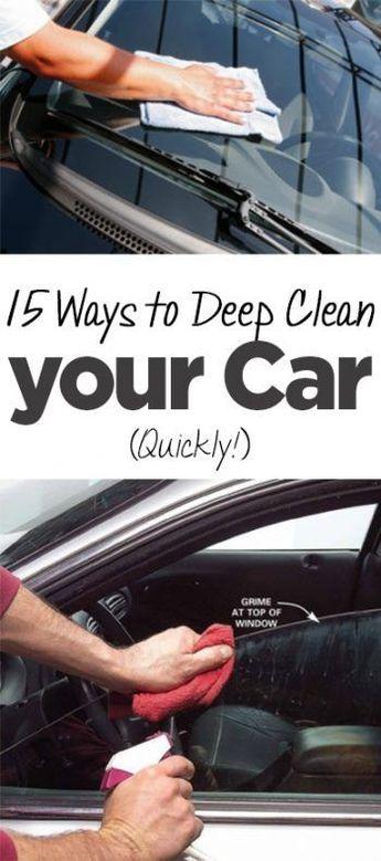 car cleaning clean your car car cleaning hacks popular pin diy rh pinterest com
