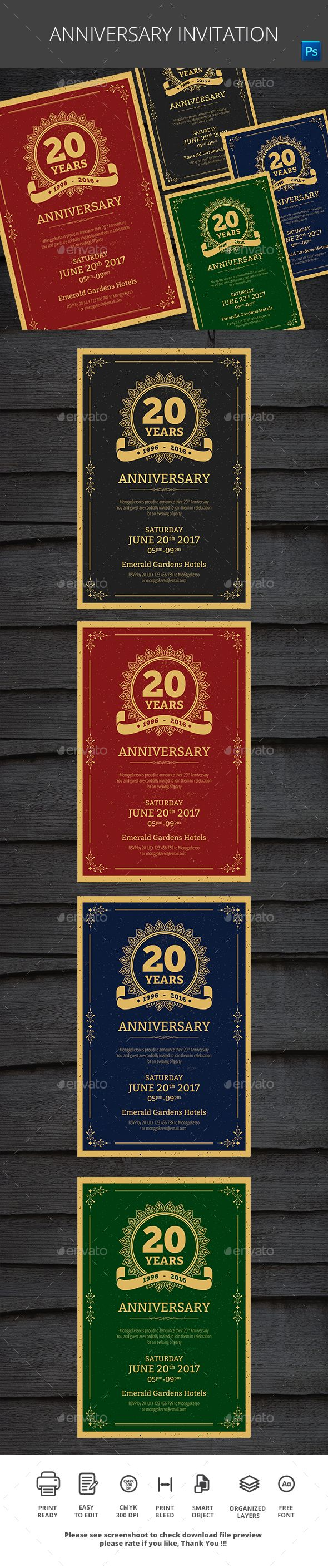 business event invitation templates%0A  Anniversary  Invitation  Cards  u     Invites Print Templates Download here   https