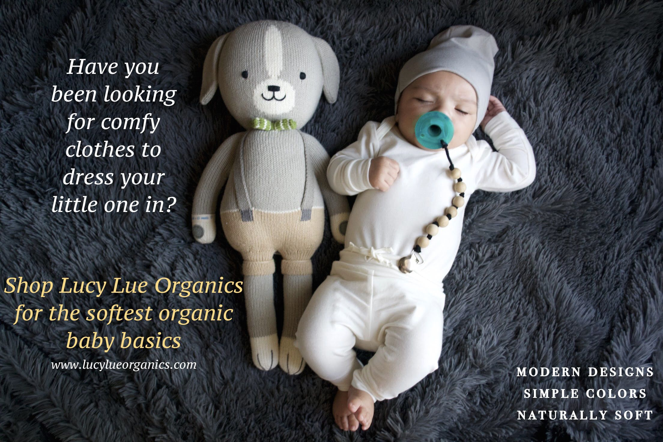Shop Lucy Lue Organics for the best in organic baby clothes Baby